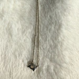 3 for $30 - Dainty pretzel necklace